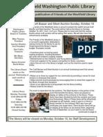 October 2011 Newsletter