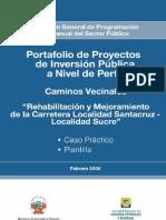 Mejoramiento y Rehabilitacion de Caminos Vecinales