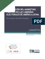 Irrupción del Marketing Político América Latina Por Gustavo Martínez Pandiani