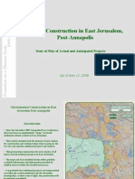 Jerusalem Primer - Updated as of June 15, 2008