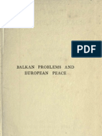 Buxton Leese -Balkan Problems and European Peace