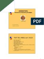 PSICOLOGIA-TECNICAS DE EVALUACION PSICOLOGICA
