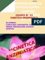 CINETICA ENZIMIATICA nueva