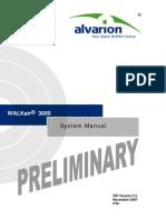 WALKair 3000 Ver.5.5 System Manual_071129