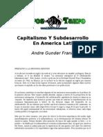 Capitalismo Y Subdesarrollo en America Latina1