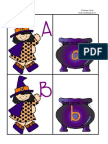 Witch and Cauldron Upper to Lower Case Match