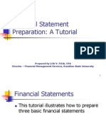 Financial Statement Preparation
