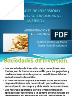 Sociedades de Inversion