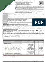 Plan y Programa de Eval Mate IV 2p 11-12
