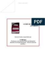 Guide de La These en Droit