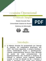 Simplex Unimontes