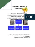 CÓDIGO ORGÁNICO PENITENCIARIO Y CIUDADES INTEGRALES ENDÓGENAS PENITENCIARIAS