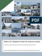 Índice de Ciudades Verdes de América Latina
