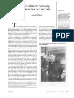 Henri Poincare Marcel Duchamp