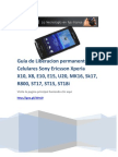 Guia de Desbloqueo o liberacion de Sony Ericsson XperiaX10