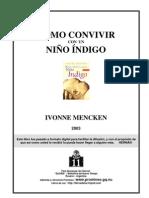 """Mencken, Ivonne - Cómo Convivir con un Indigo """" Libro """""""