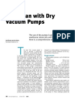 Run Clean With Dry Vacuum Pumps