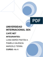 Trabajo Cafe Net