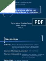 Neumonia Adquirida en La Comunidad (CMAR 2009)