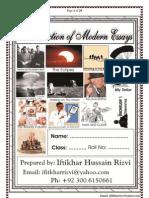 B.A Modern Essay (Punjab University Lahore)