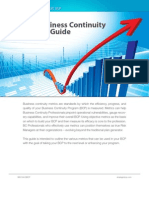 The Business Continuity Metrics Guide SBCP
