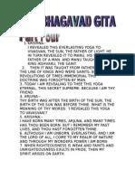 THE BHAGAVAD GITA PART FOUR