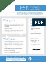 Microsoft Leader Job Description