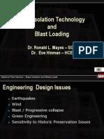 Base Isolation and Blast Loading