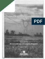 500kV Transmission project Vol3 Overvoltage analisis report - Tractebel