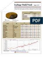 August 2011 ETF Report