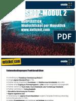 oeticket Affiliate Programm - Modul 2