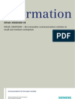 HiPath 3000 V8 Data Sheet
