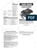 Black & Decker Power Inverter Manual