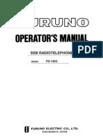 FURONO Radio Manual20C