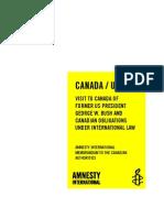 Rapport Amnesty Bush