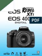 Canon Rebel Eos Xti - Eos 400d