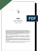 Draft IRDA Whitepaper