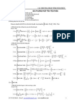 chuyên đề 1 - Các phương pháp tính tích phân