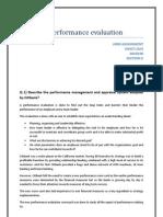 Citibank Performance Evluation