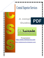 CSS (Central Superior servises) complete manual