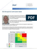 Risk Management with Gordon Wyllie