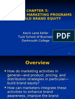 Strategic Brand Management chapter 05