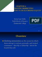 Strategic Brand Management chapter 06
