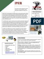 VIPER Information Sheet