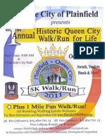 Flyer Queen City Walk Run 2011