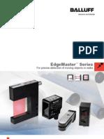 Object Detection 185127 Edge Master Sensors Brochure