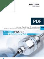 Linear 180269 Micro Pulse Pro Compact Brochure