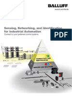 Balluff 218263 Corporate+Product Overview Brochure