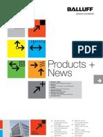Balluff Product News Catalog - Winter 2012