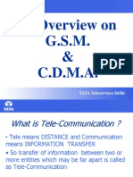 Overview of GSM and CDMA